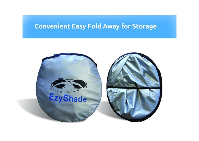 EzyShade Car Windshield Sunshade & Bonus Products